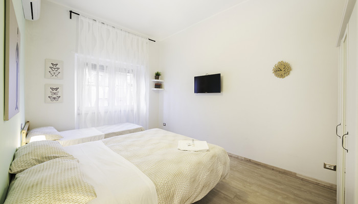 camera 4 verde - soggiorno bed and breakfast roma